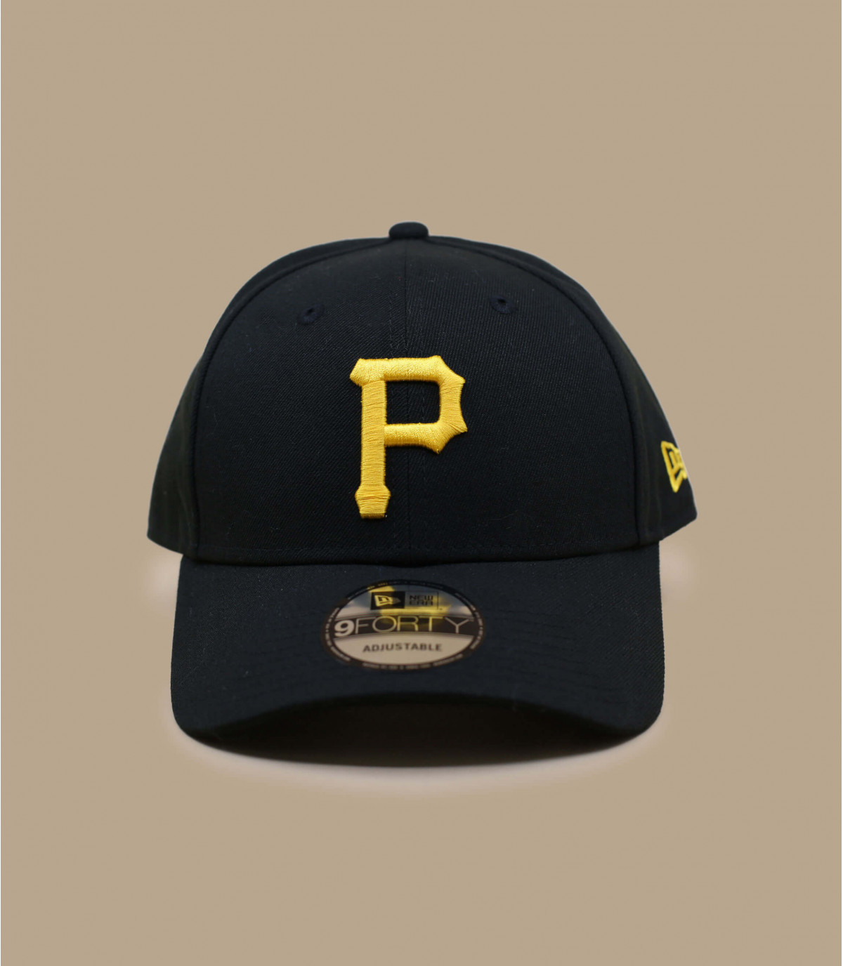 P Curve Cap New Era Cap Pittsburgh Pirates The League