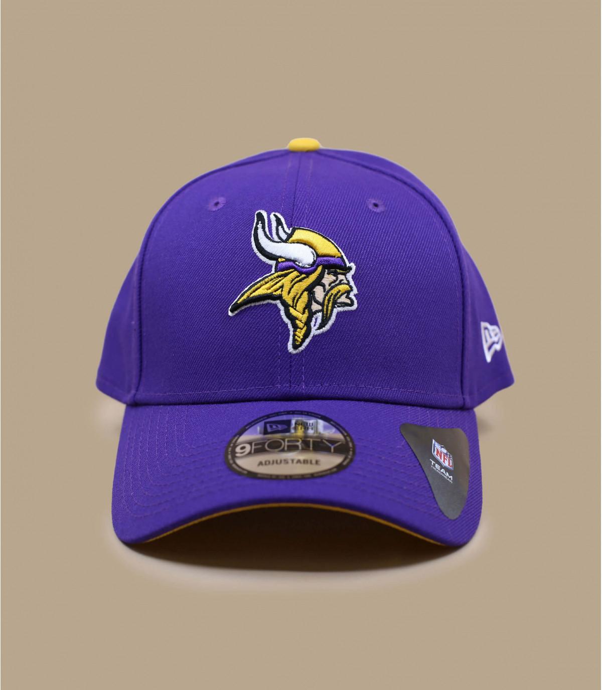 blue Vikings curve cap
