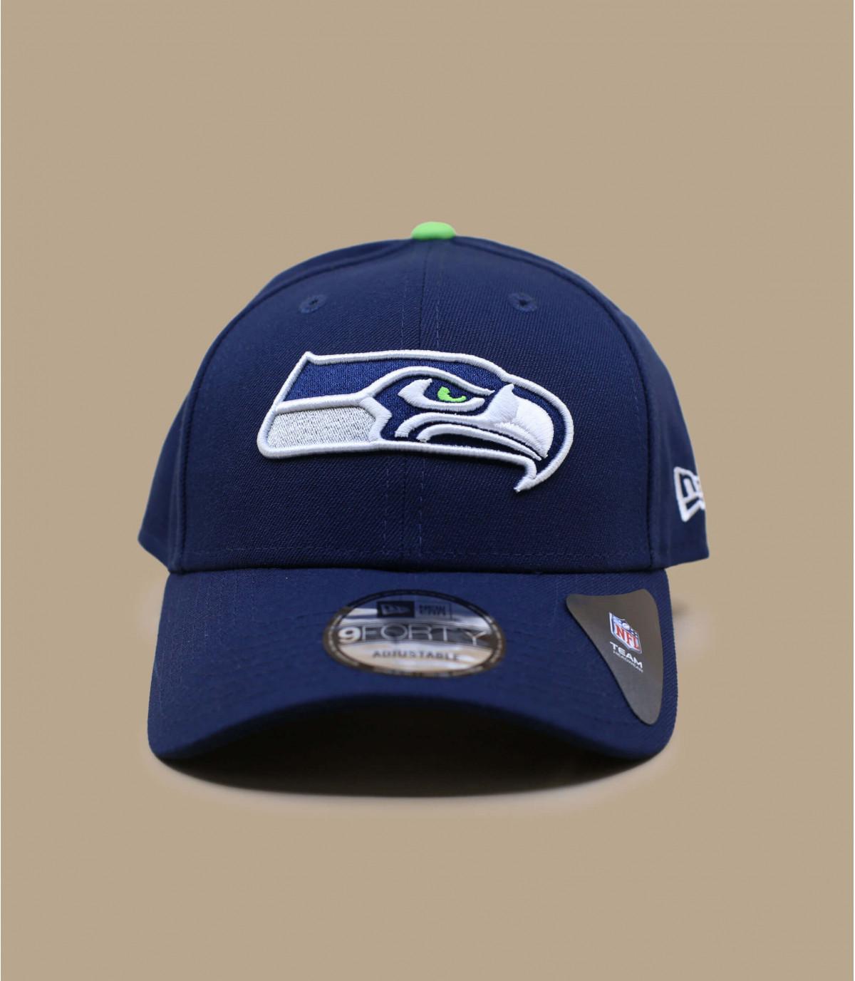 blue Seahawks cap