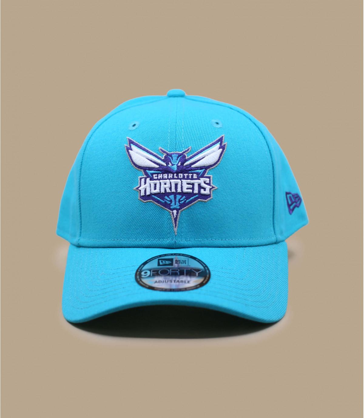 Hornets blue curve cap