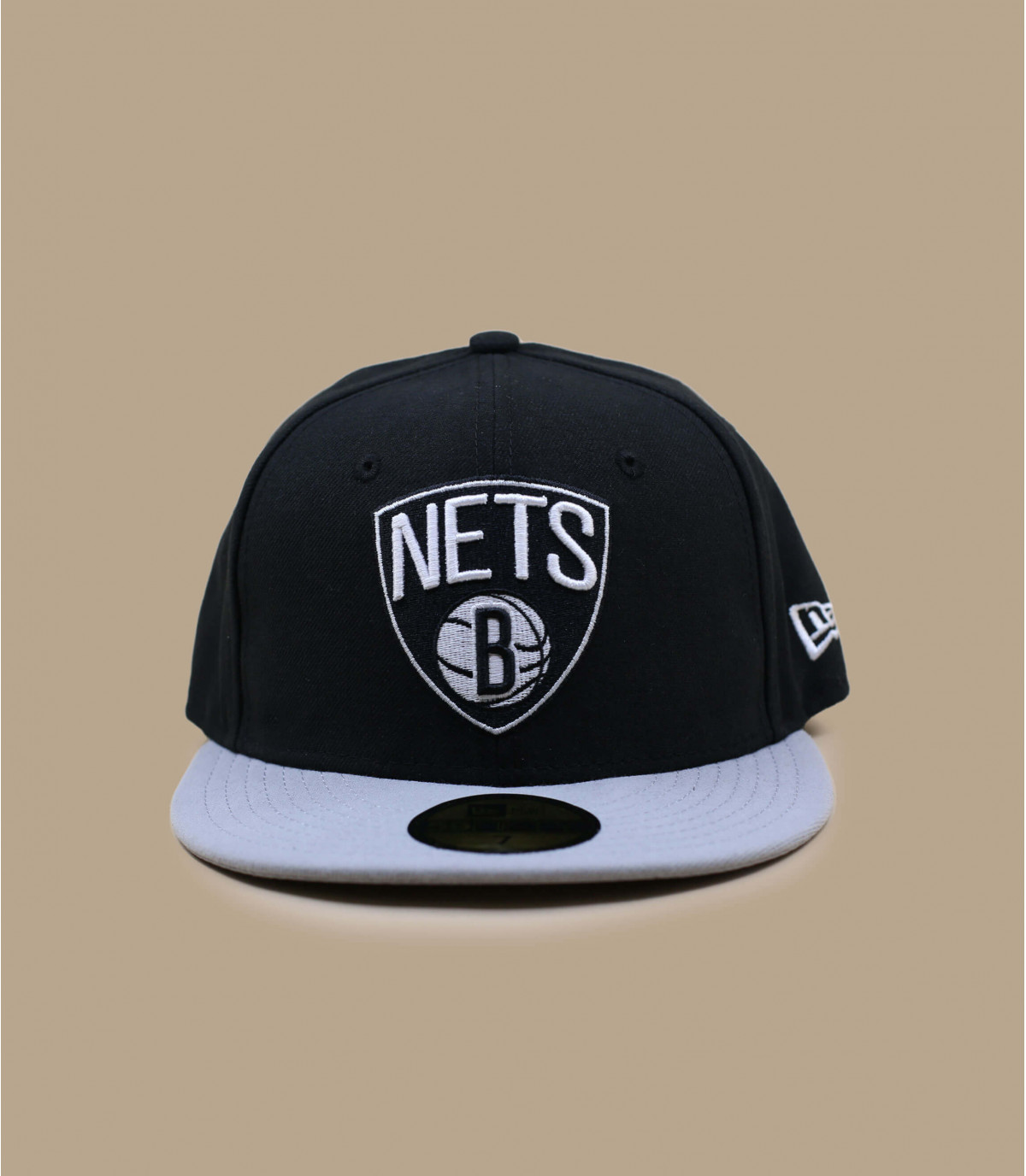 Black grey nets cap