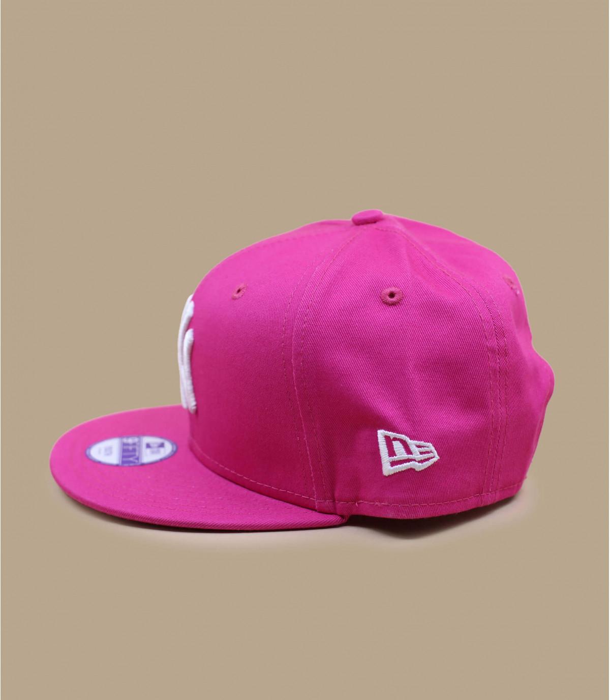 Child pink snapback - NY snapback pink by New Era. 836be872a67