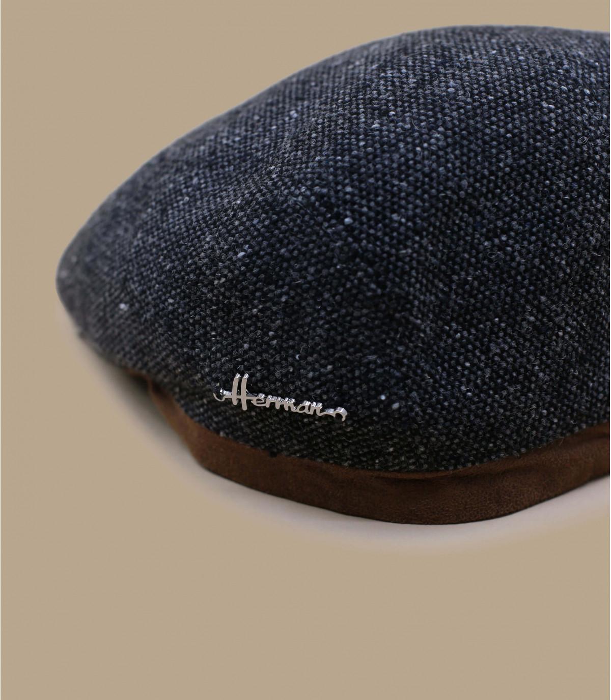 grey wool beret Herman