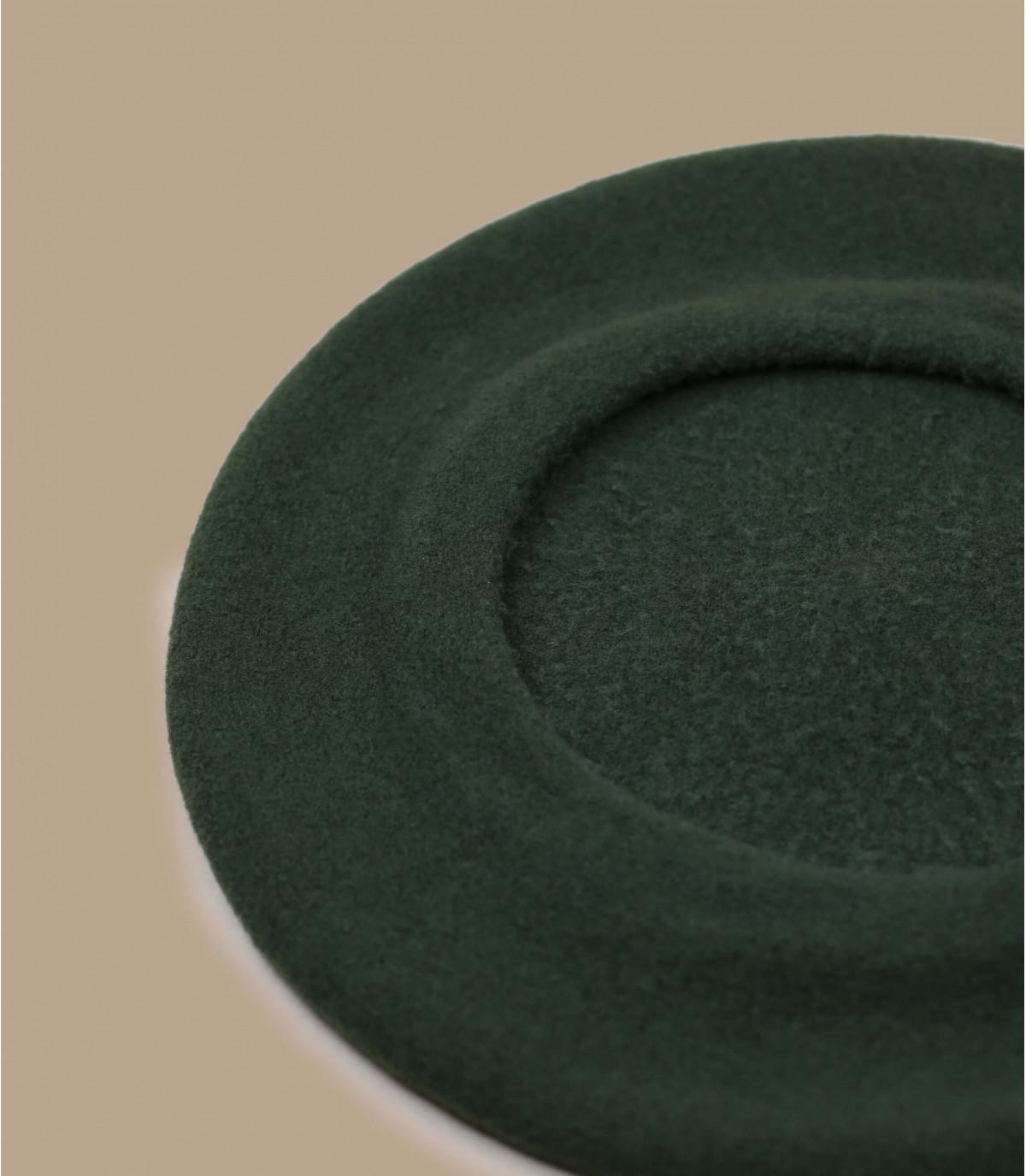 13e51173a6a435 Basque beret wool khaki green - Paris khaki by Héritage par Laulhère ...