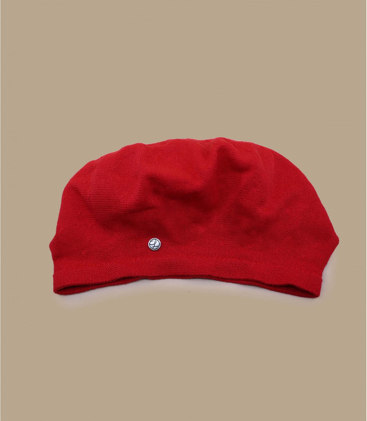 red floppy beret Laulhère
