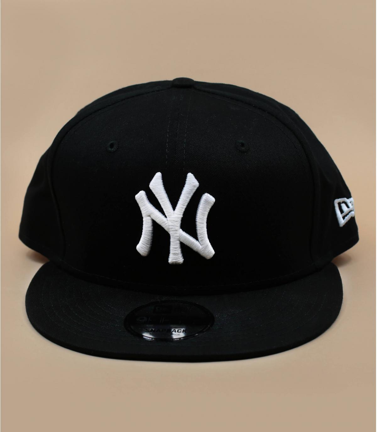 NY Snapback New Era - Snapback NY MLB black white by New Era. Headict 2d95dc001e2