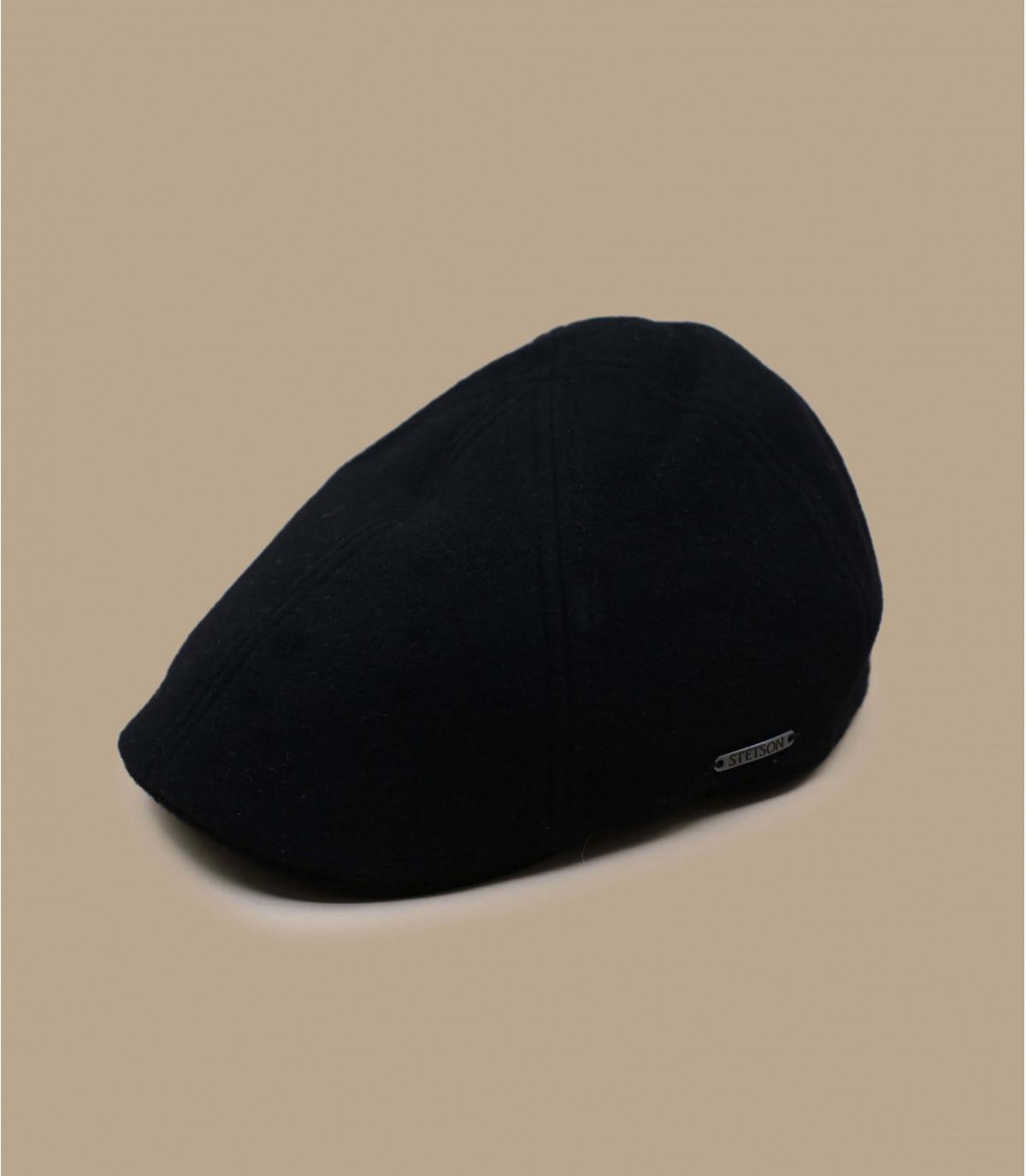 cashemere black cap