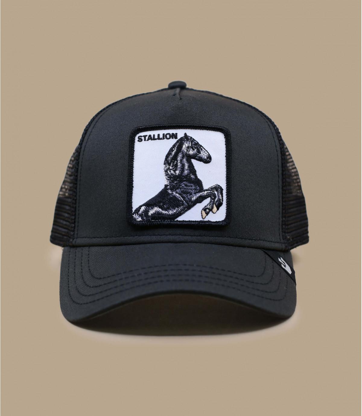 black horse trucker