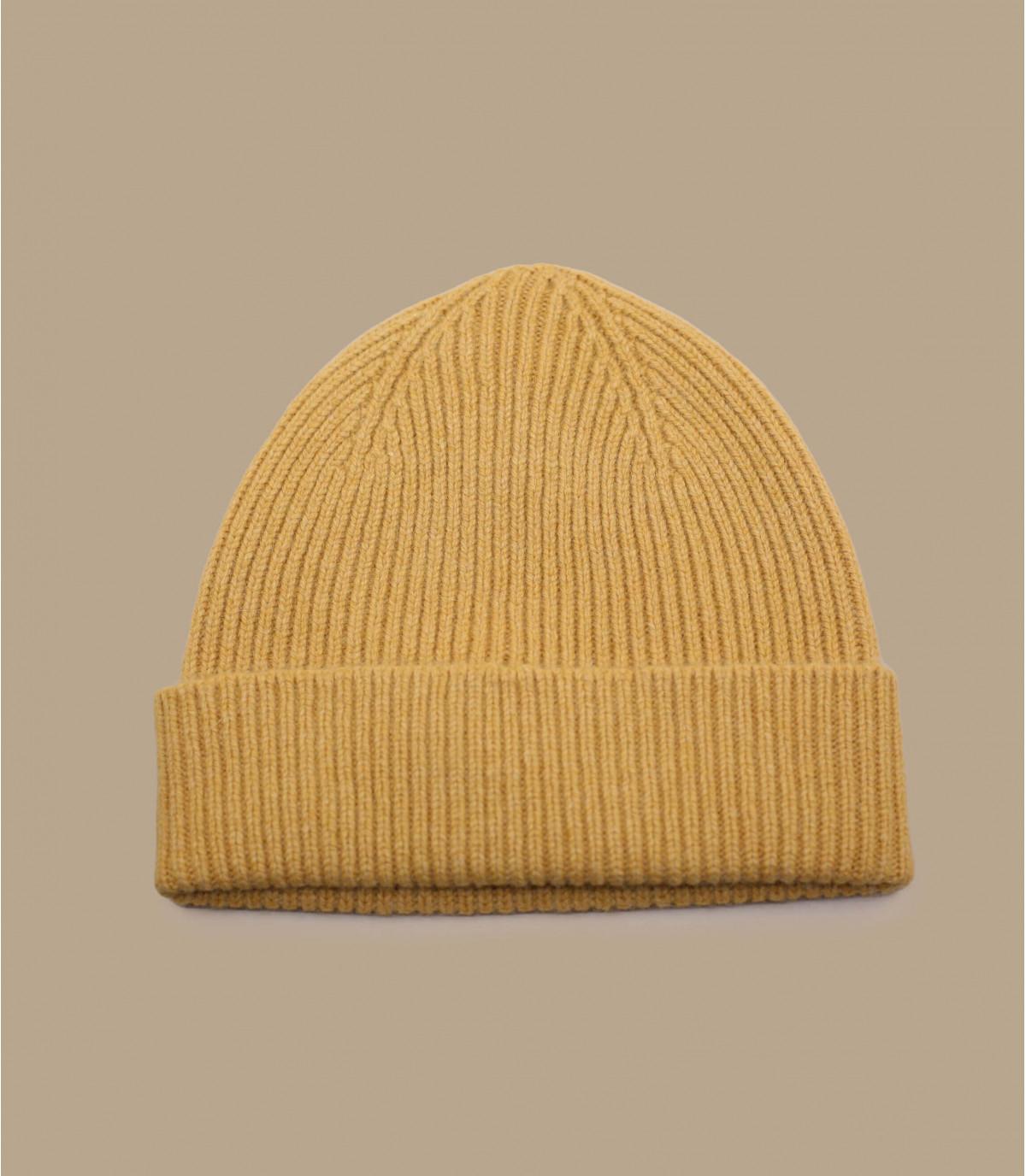 yellow docker beanie Mackie