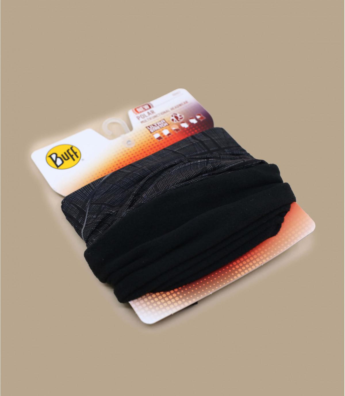 black Polartec Buff