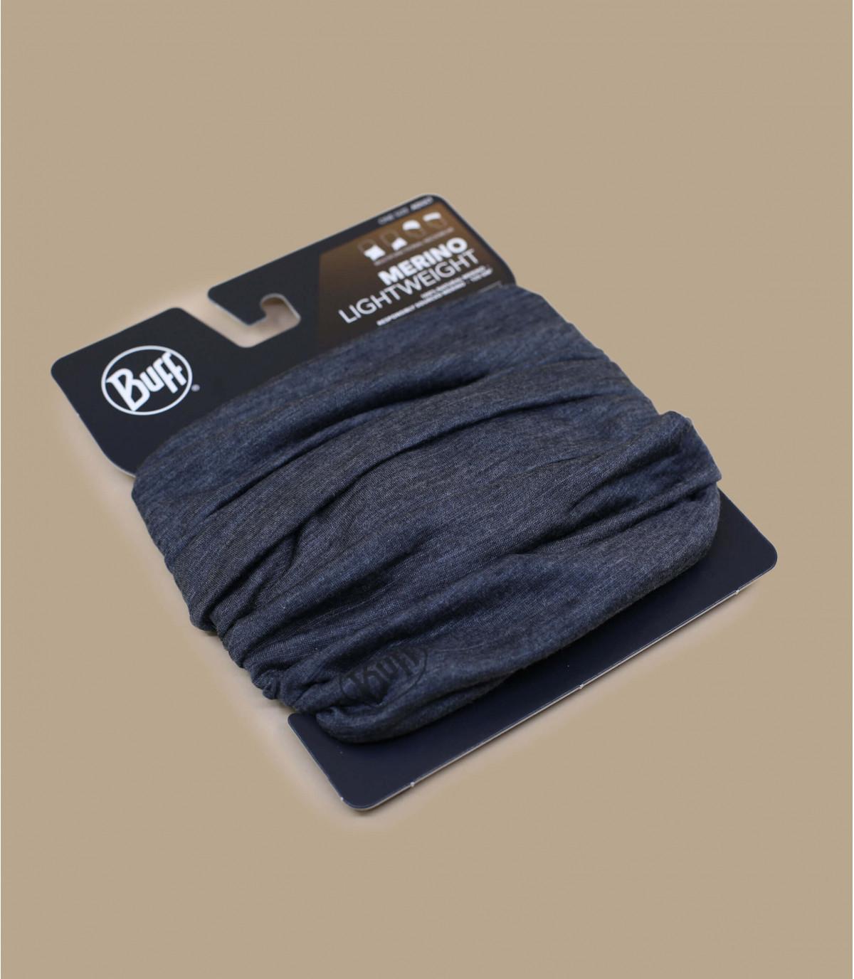 Détails Lightweight Merino Wool solid grey - image 2