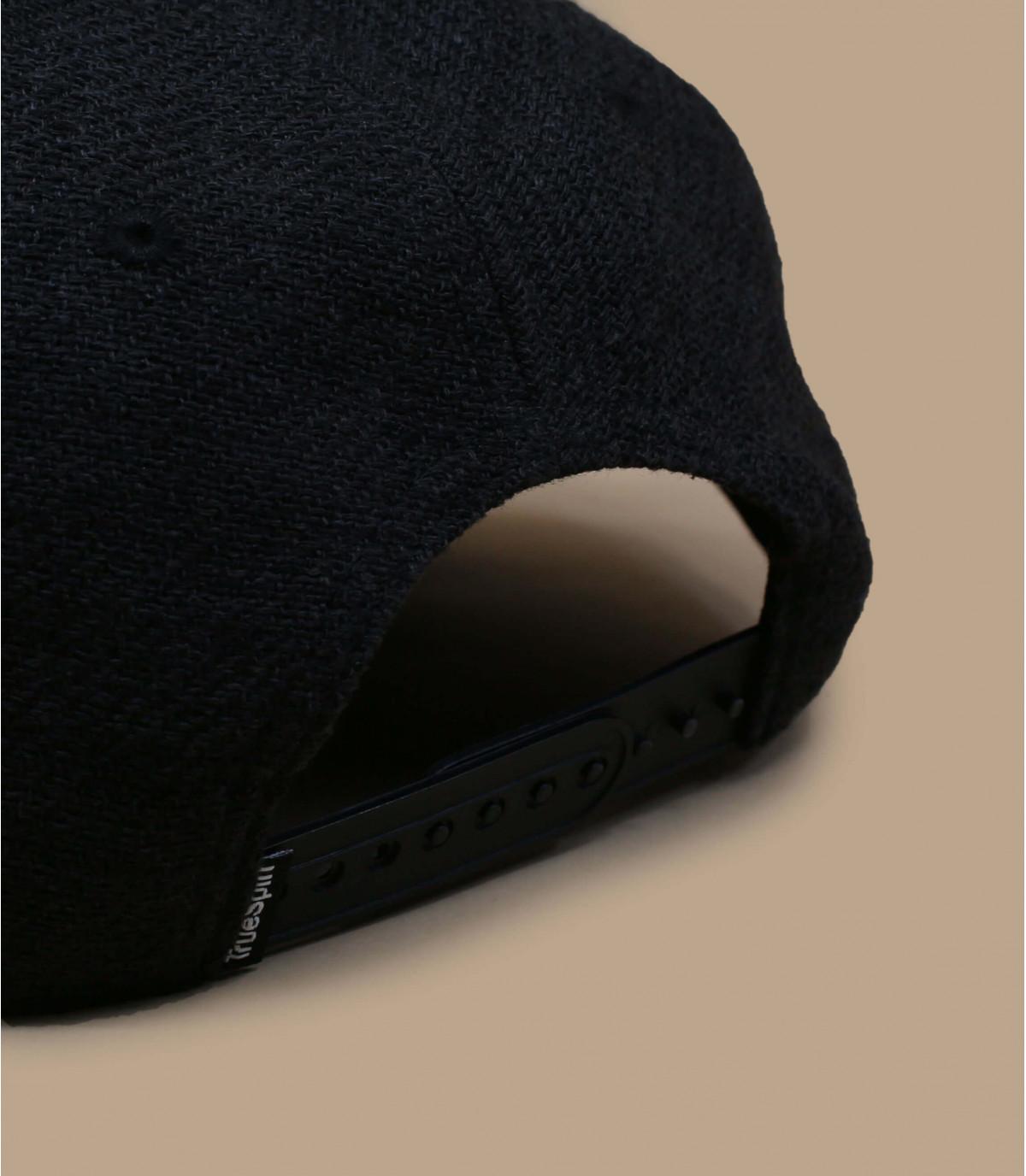 Détails Snapback Rubber Taper black black - image 3