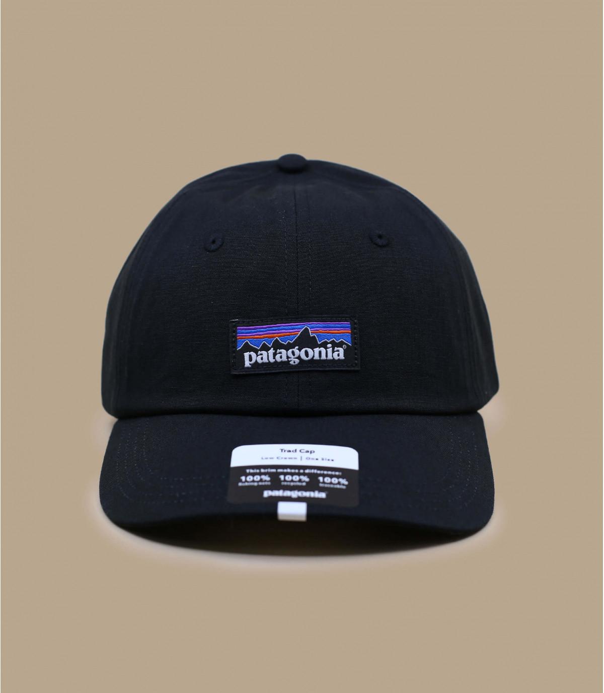 black Patagonia cap