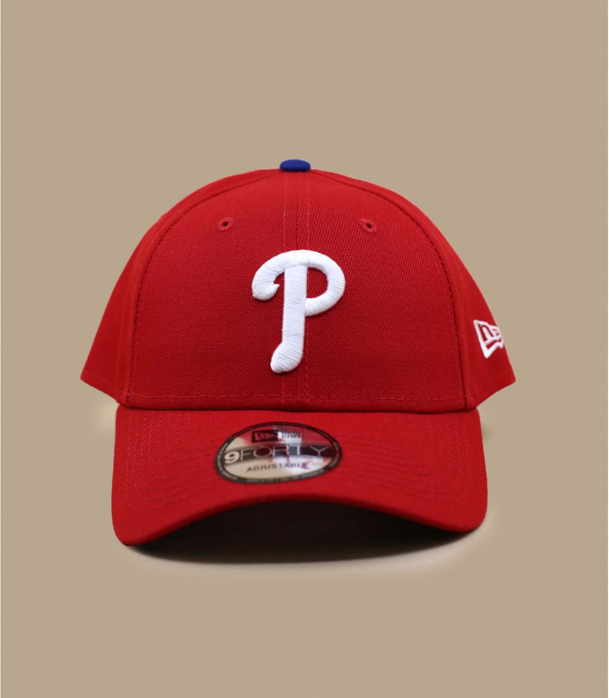 red P cap
