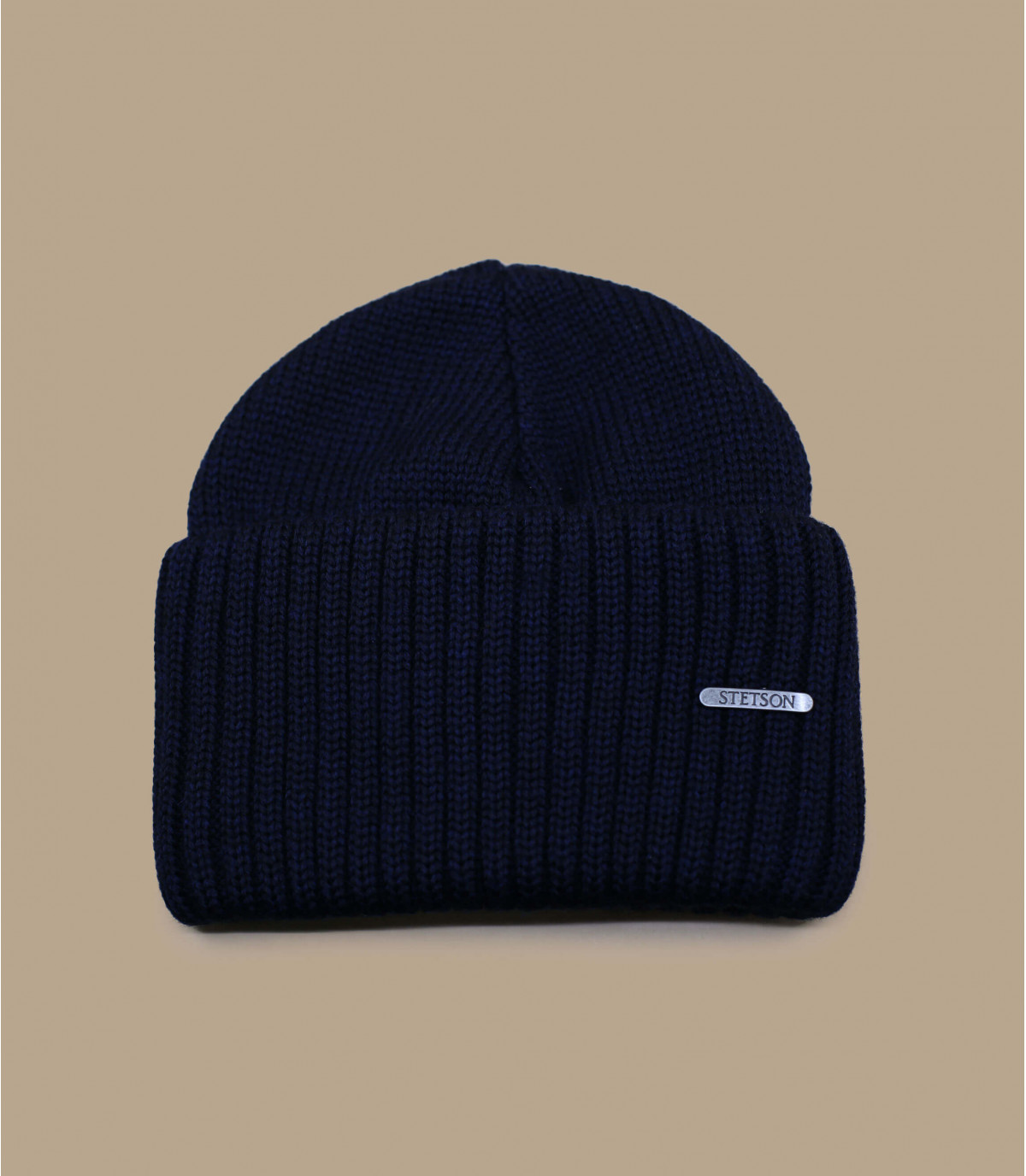 Stetson wool beanie