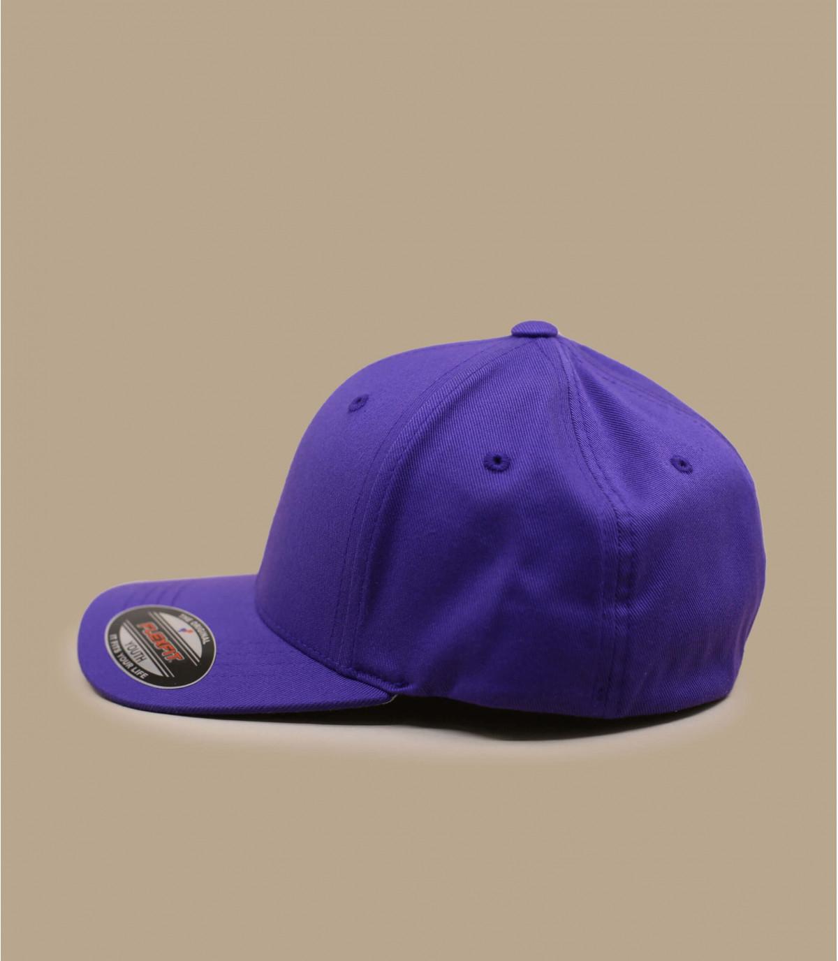 Flexfit cap purple kids