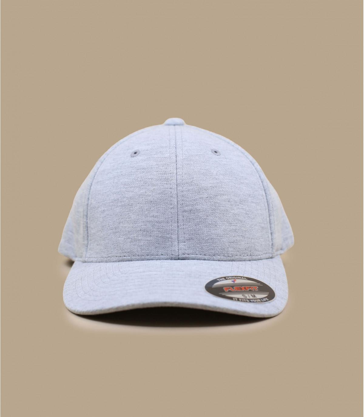 Grey jersey cap flexfit