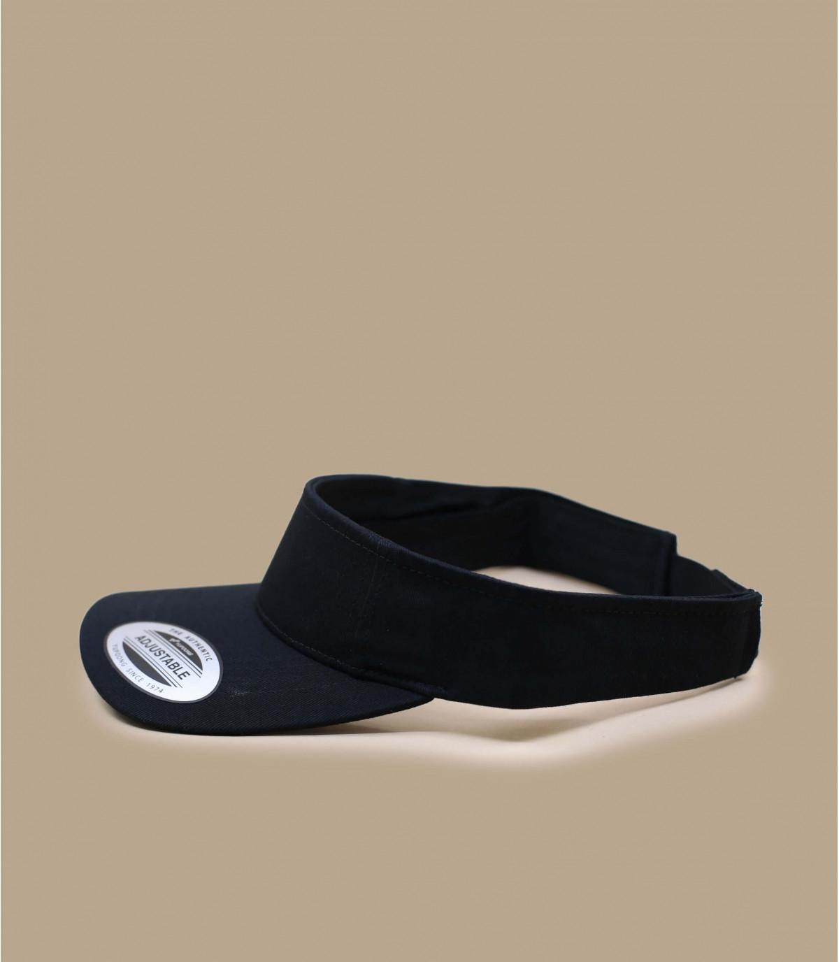 Black visor wm