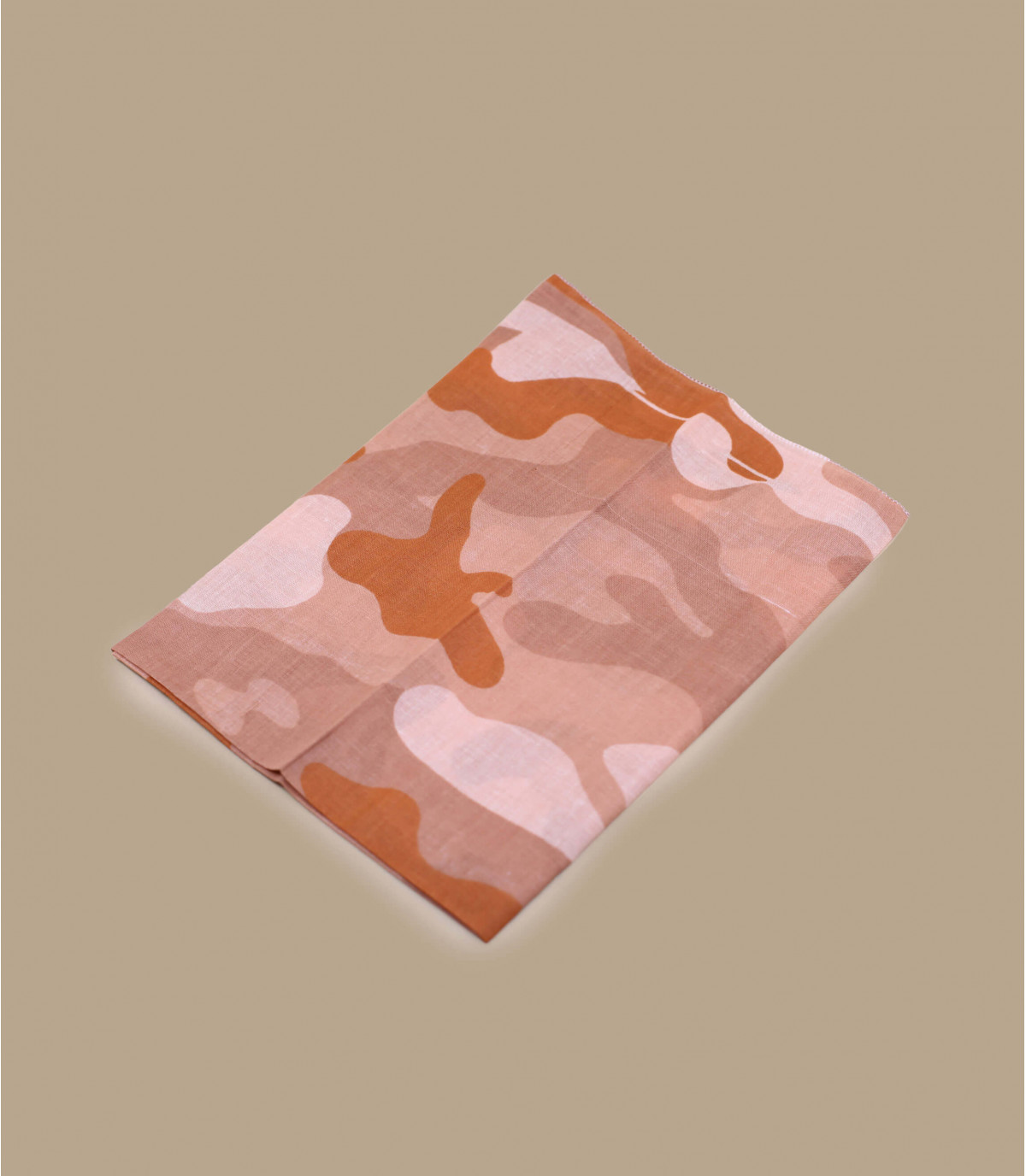 Pink camo bandana