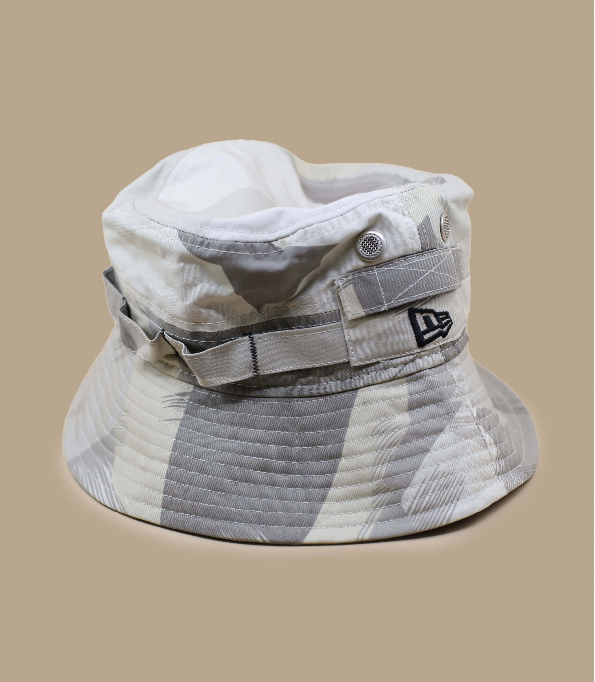 New Era bucket hat camo