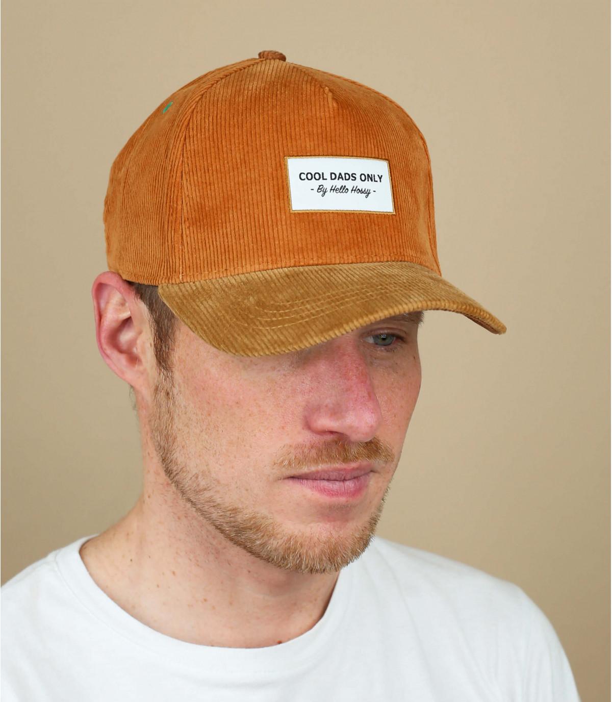 Beige Hello Hossy cap