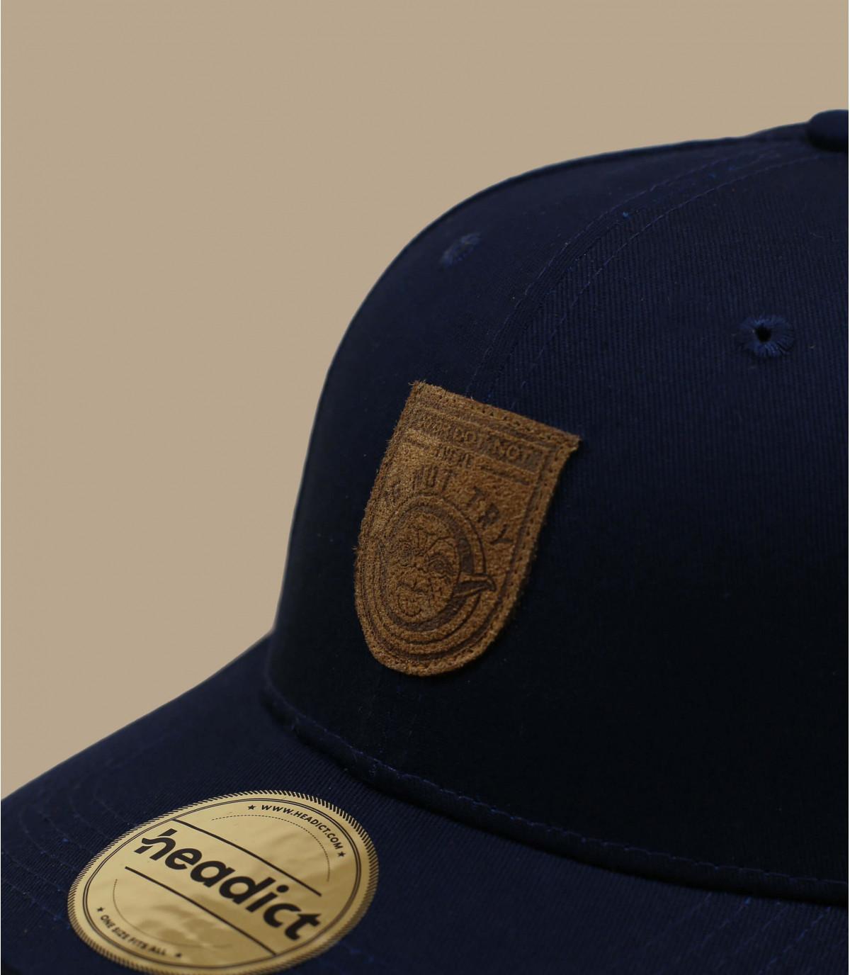 blue Not Try cap