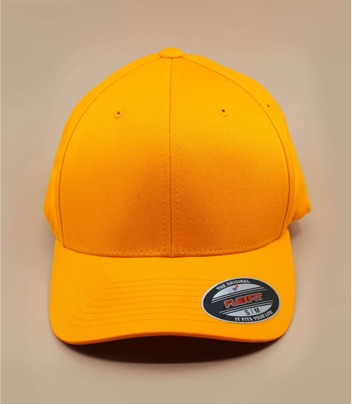 Flexfit cap yellow