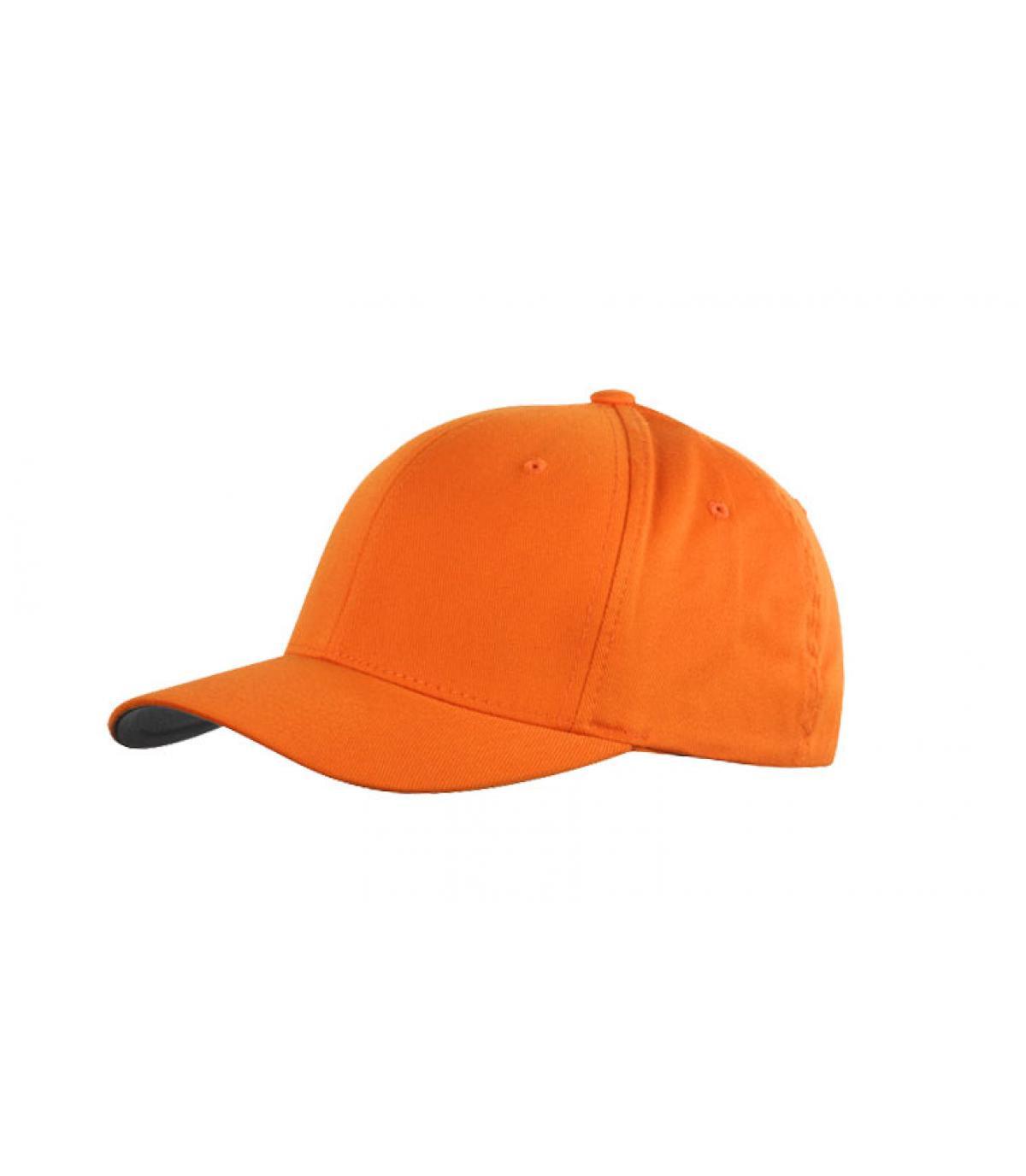 Détails Flexfit cap orange - image 2