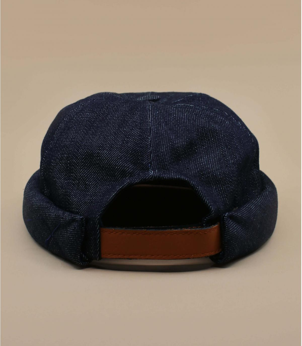 Blue docker beanie - Miki denim by Béton Ciré. Headict a6f8763fe80