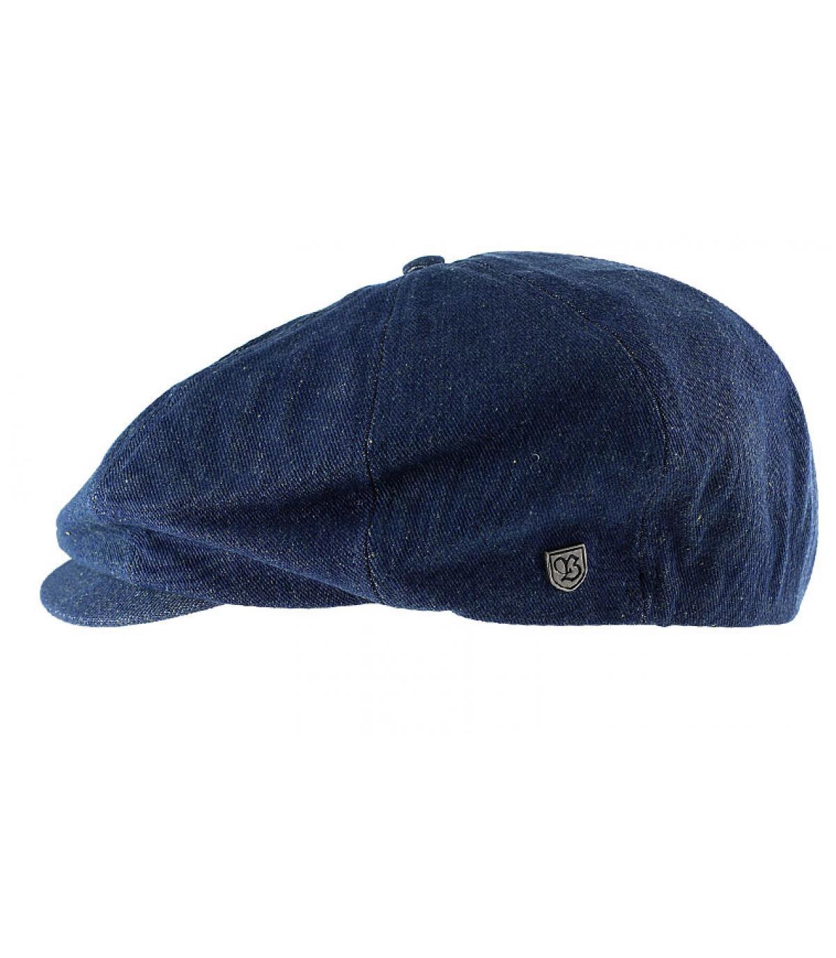 a615a3dbd21c6 Denim newboys cap - Brood dark denim by Brixton. Headict