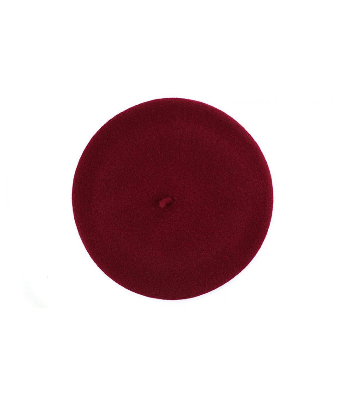 d0a1f2167cab3 Men red beret - L authentique burgundy by Héritage par Laulhère. Headict