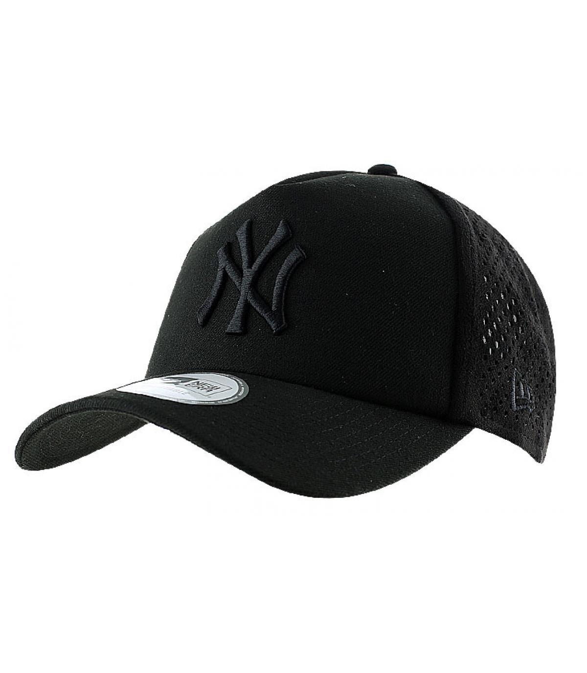 New era black mesh cap