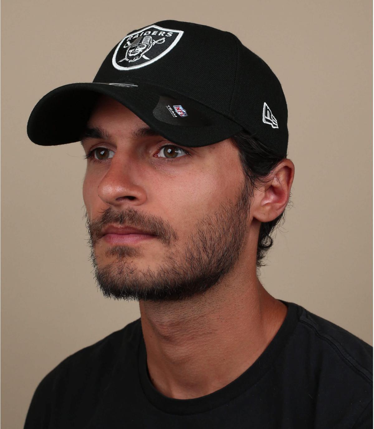 Raiders curve cap