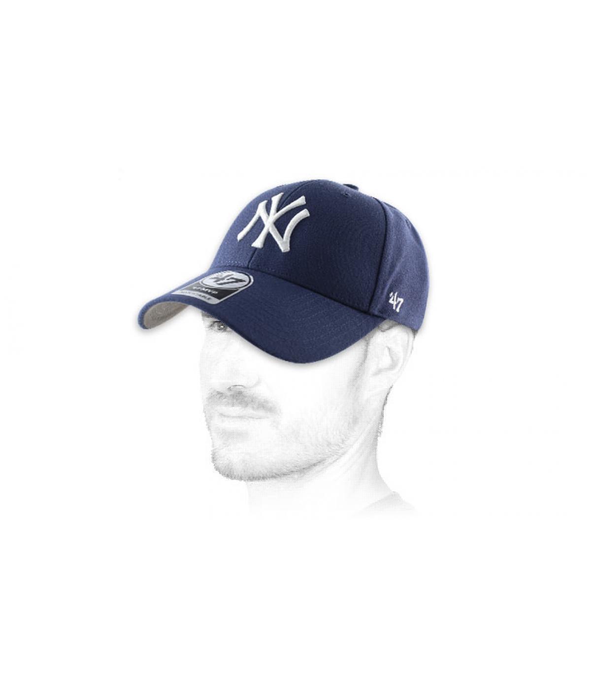 Curve cap used cotton