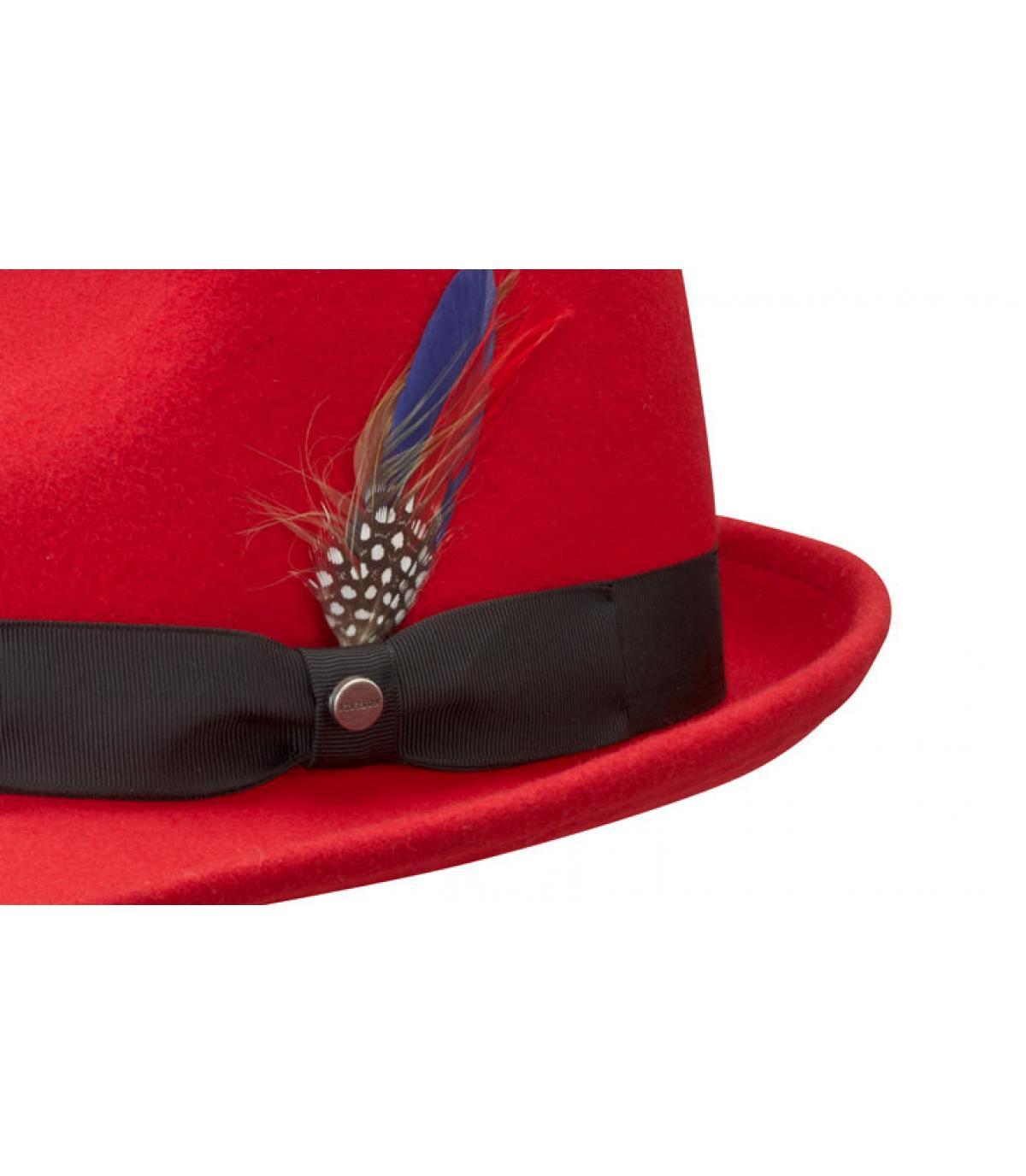 bae6299313cbc Stetson. Men red hat. Détails Boston richmond red - image 3 ...