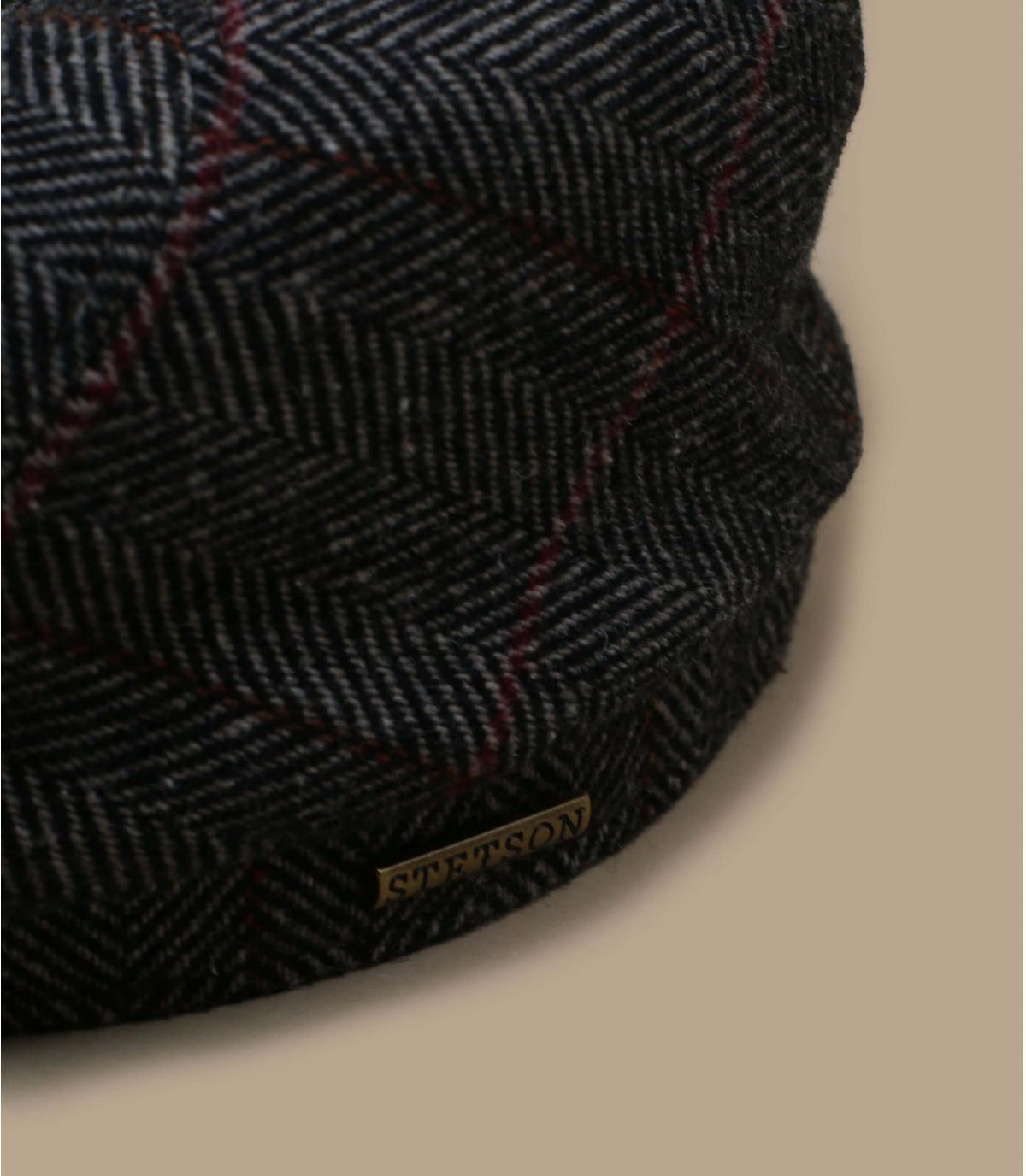 Wool newboys cap