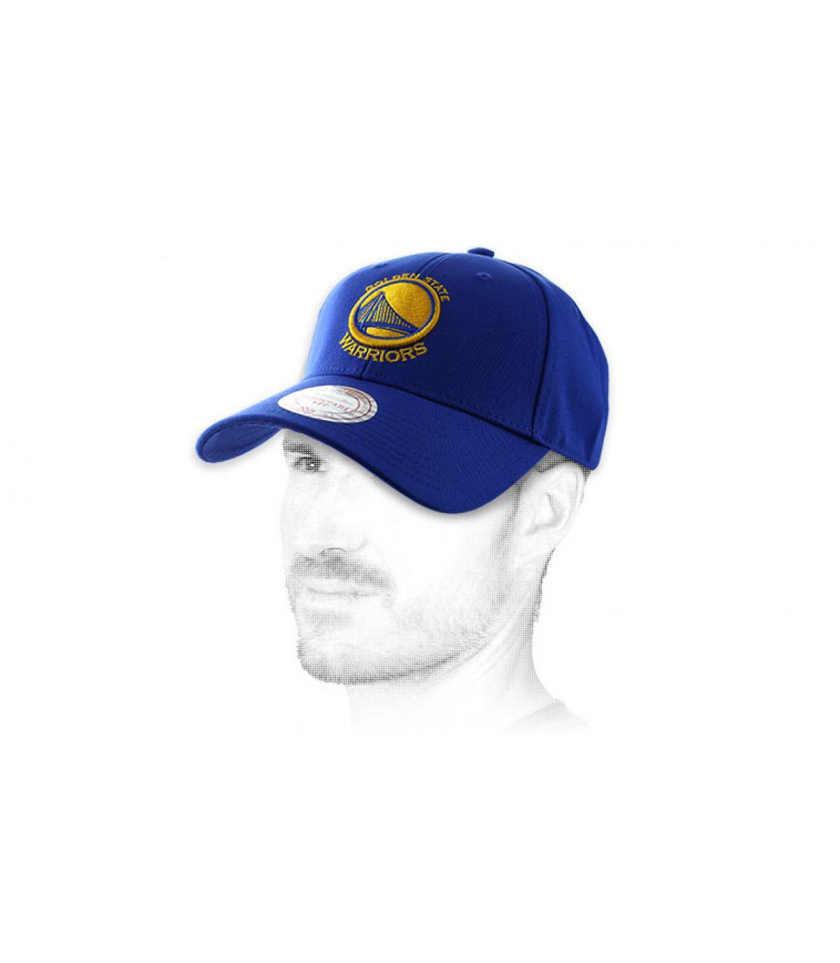 Warriors Golden State cap