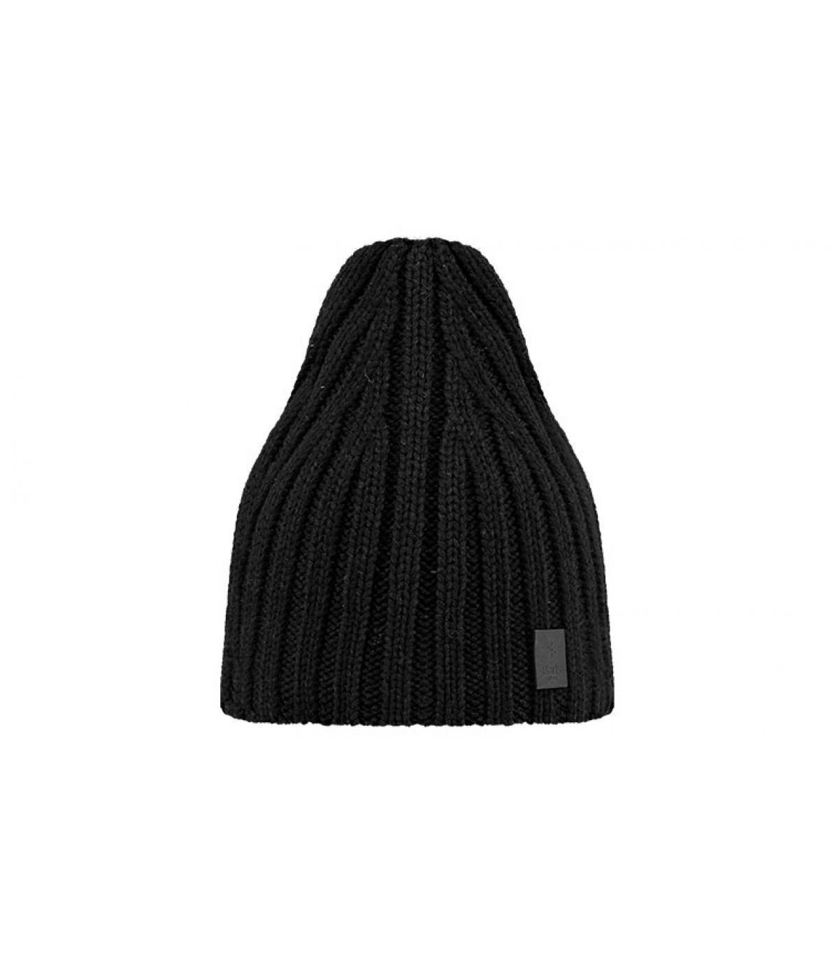 Black oversize men beanie - Milford beanie black by Barts. Headict 46913bf8670