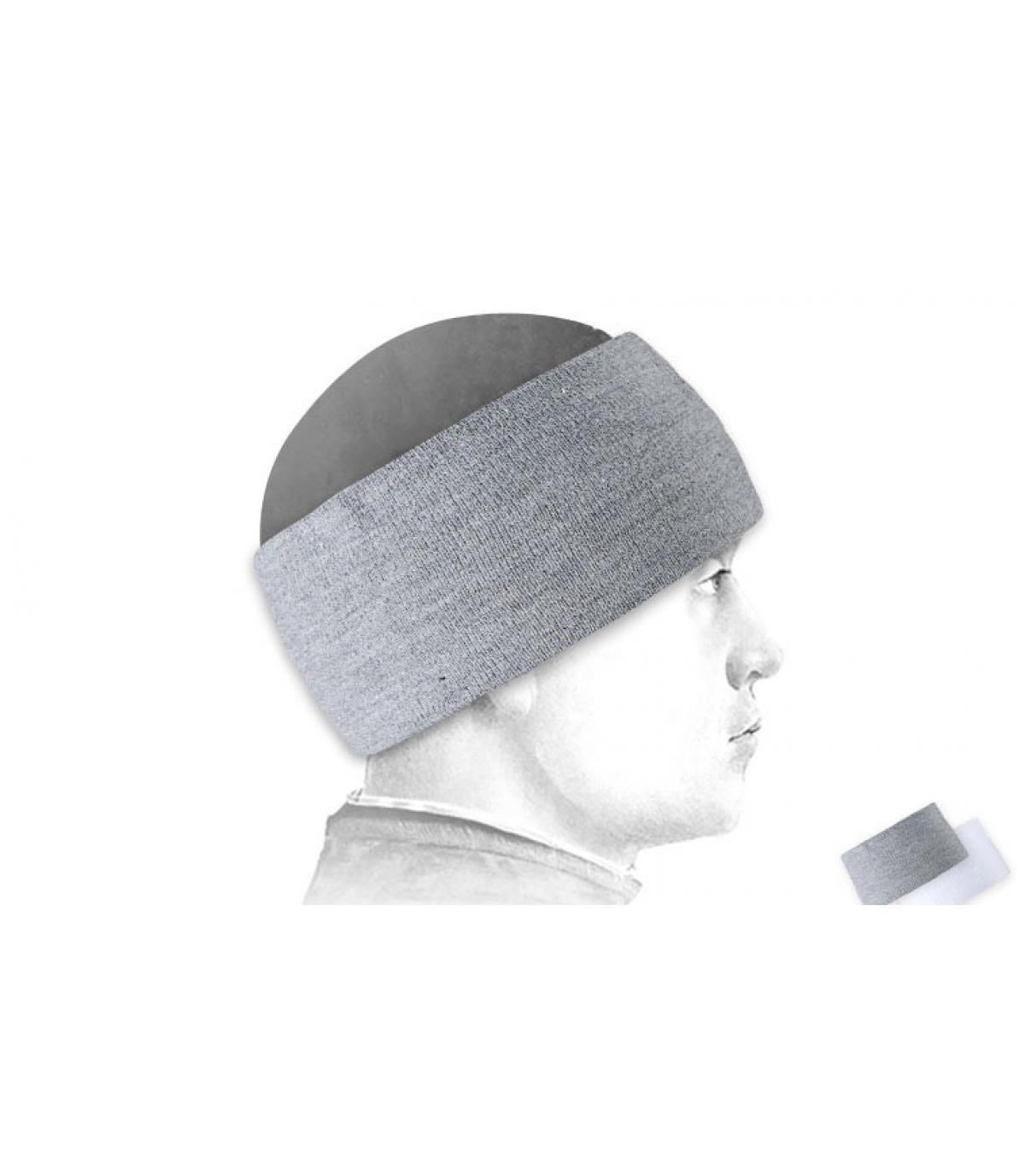 Sunrise Headband heather grey