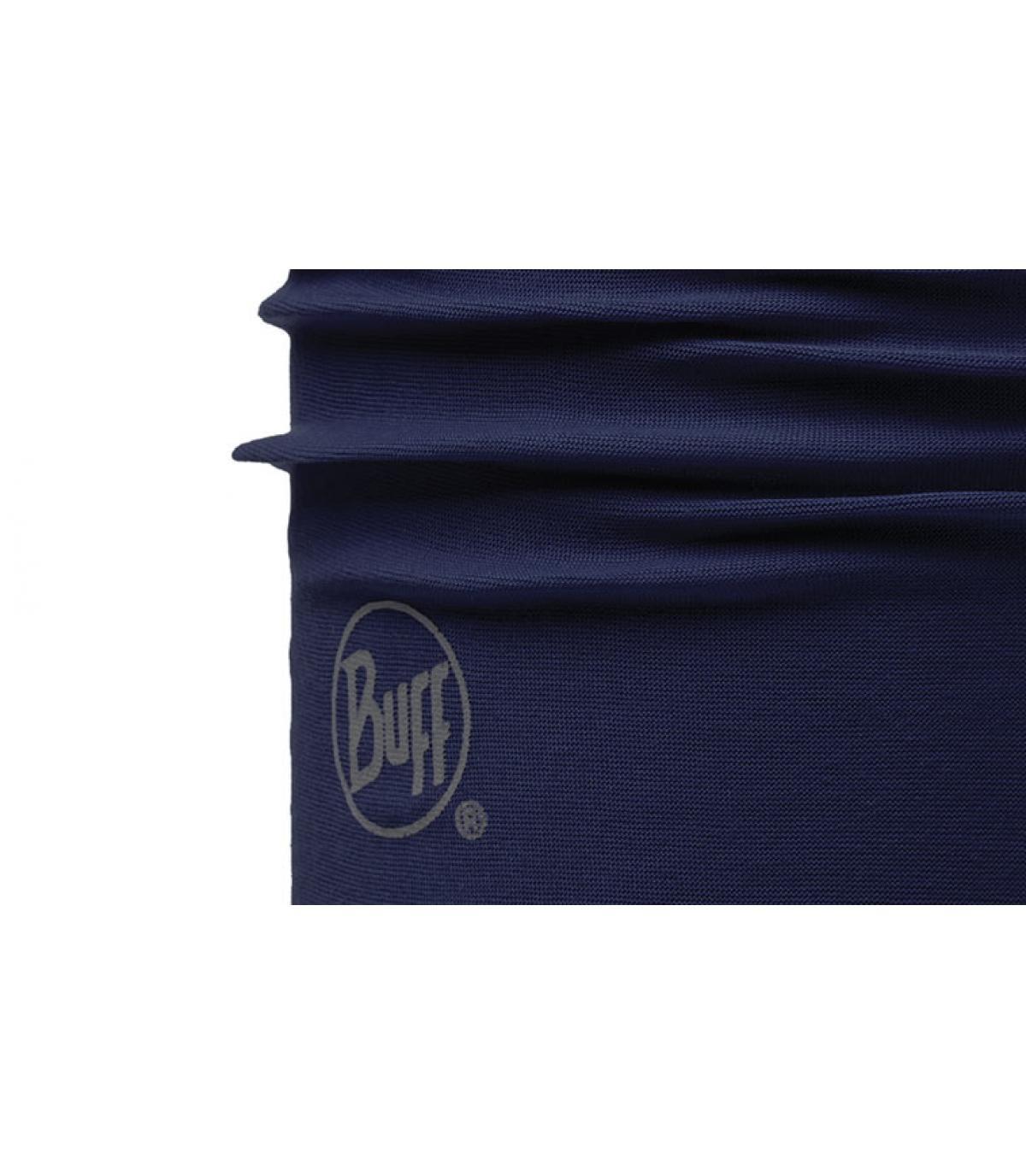 Navy neckwear Buff