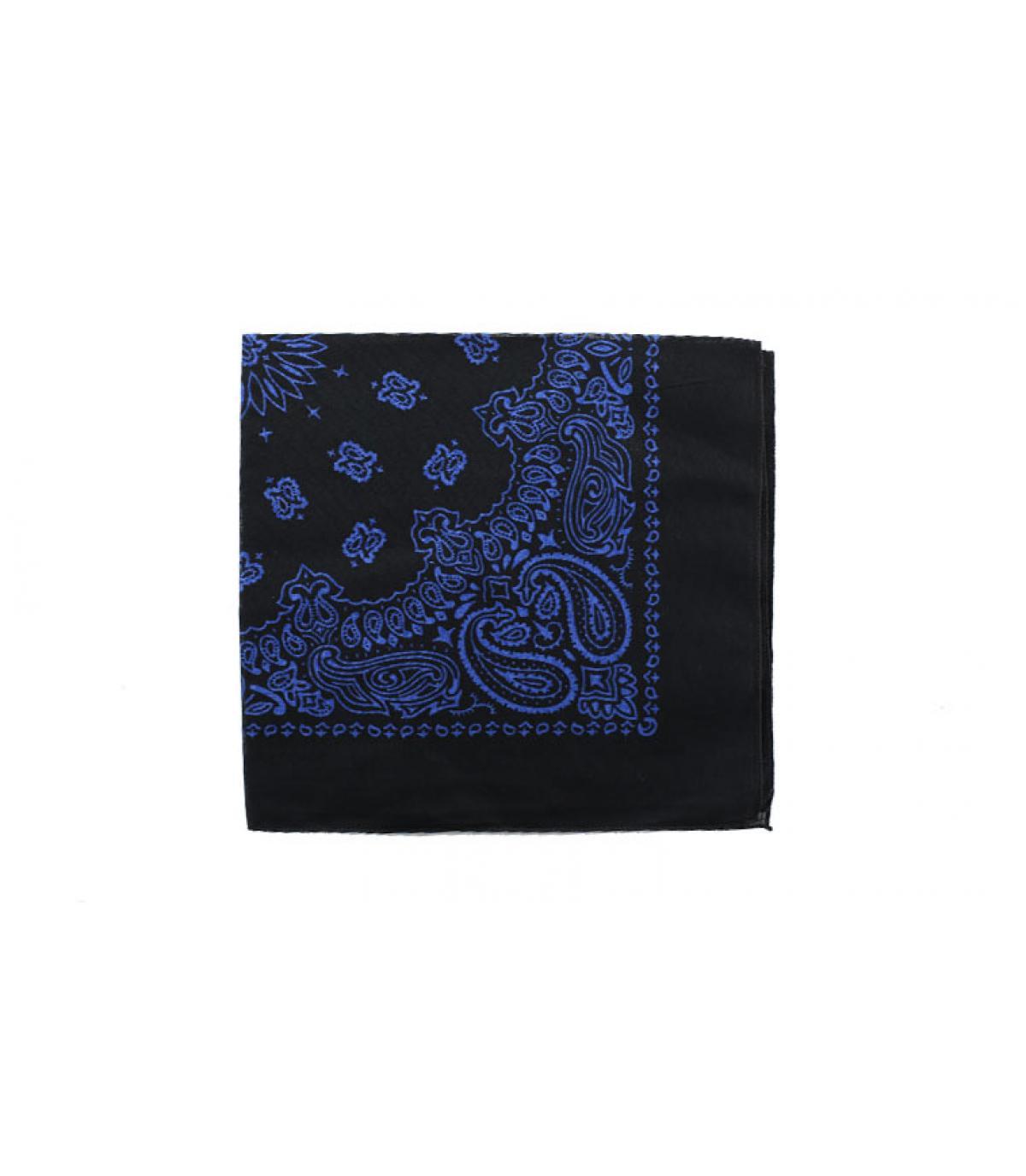black blue bandana