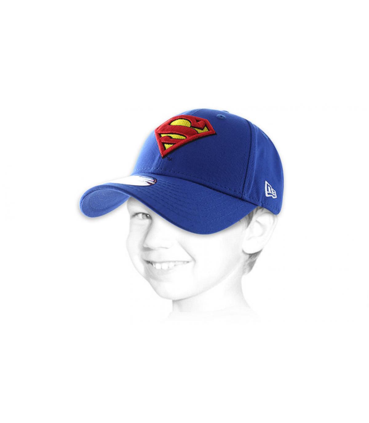 Superman cap kid size