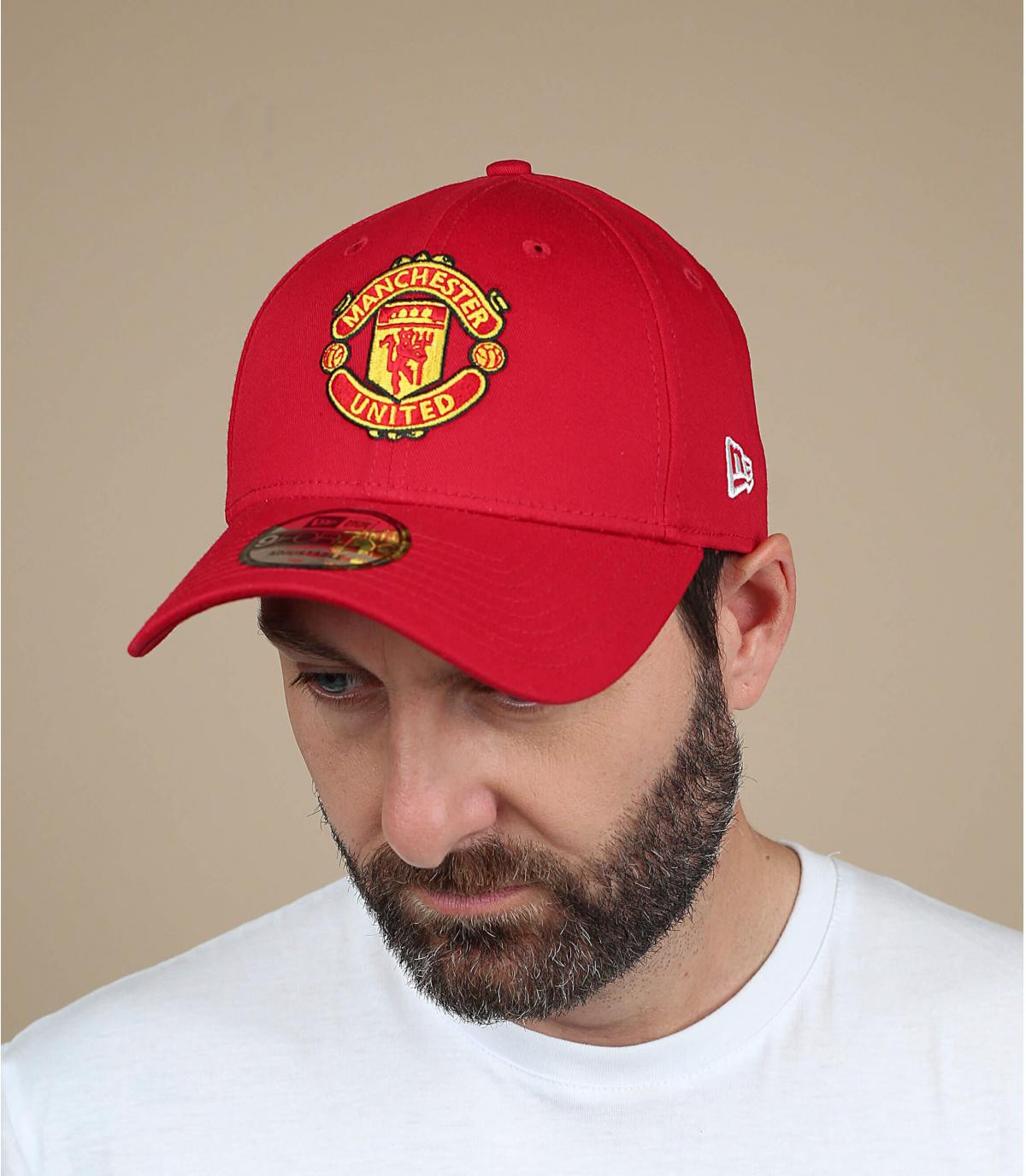 Red Manchester United cap