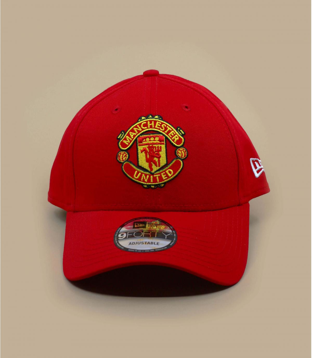 Red Manchester United cap - Cap Manchester United red by New Era ... defa837c07a