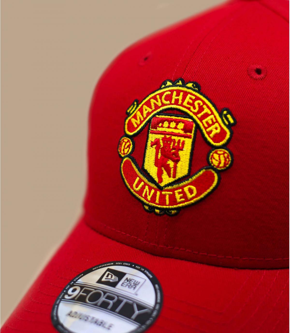 Red Manchester United cap - Cap Manchester United red by New Era ... 9e9a1b974f8
