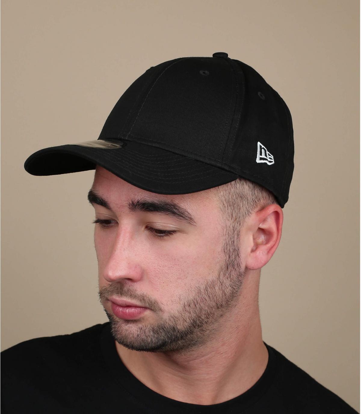 Black New Era curve cap