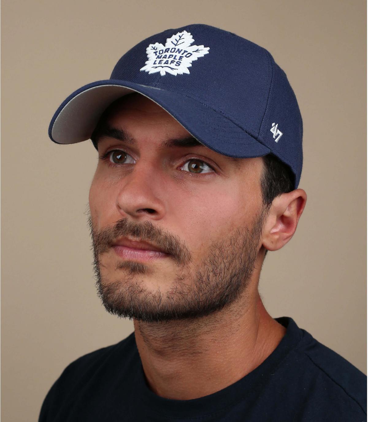 Navy blue Toronto Maple cap