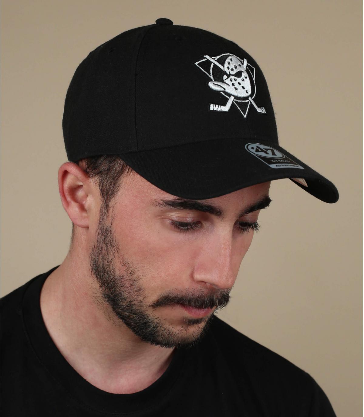 black Anaheim cap
