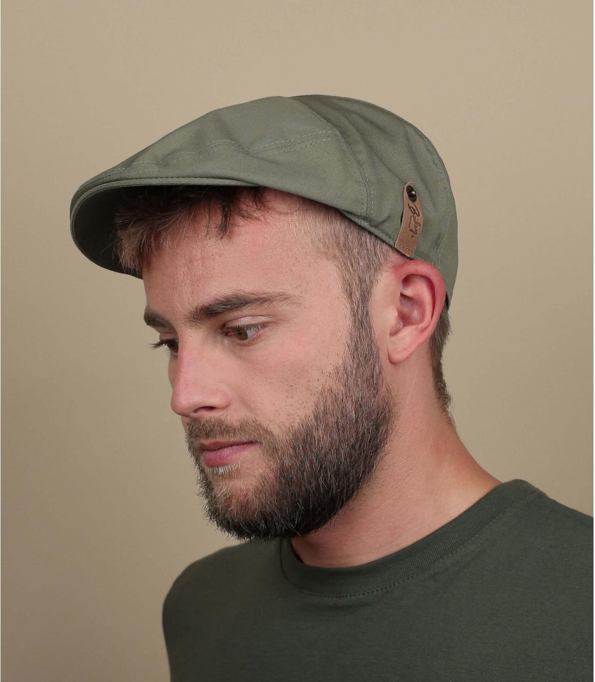 poplin duckbill cap