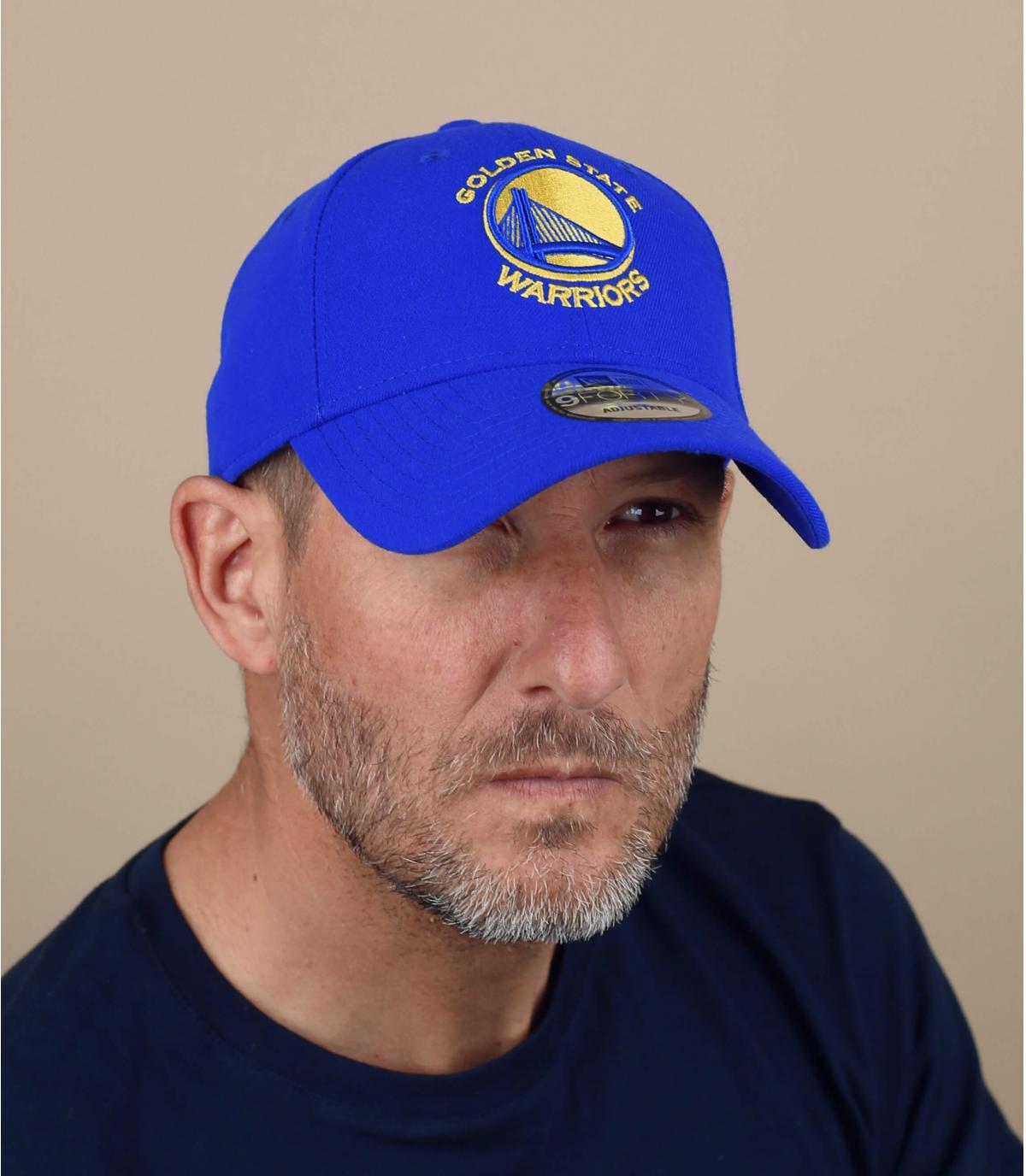 Golden State NBA curve cap